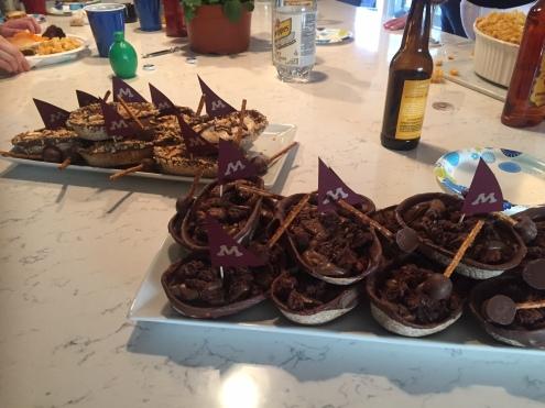 Dessert Boats
