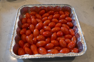 Layer the tomatoes in an even layer