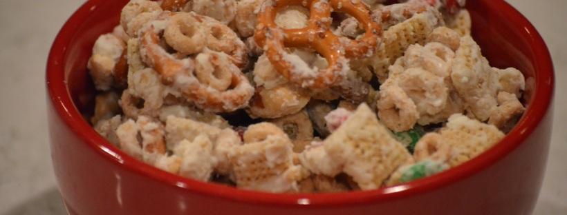 white chocolate chex mix aka christmas crack - Christmas Crack Recipe Chex